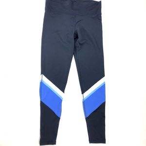 Adidas Long Tights Wanderlust Festival Blue Stripe